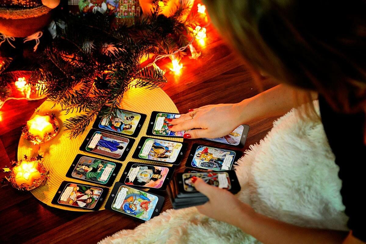 Гадание рождество в домашних условиях на картах лилия гриненкова школа магии первая ступень скачать бесплатно